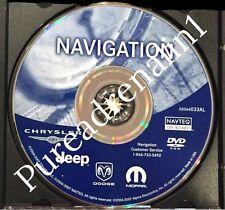 2005 2006 2007 JEEP GRAND CHEROKEE RB1 REC NAVIGATION MAP DISC CD DVD 05064033AL
