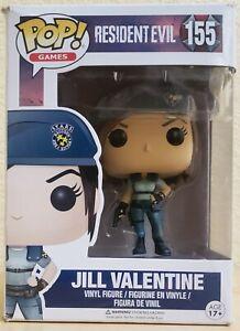 Funko Pop! Games* Jill Valentine #155 (VAULTED) Vinyl Figure w/Protector case