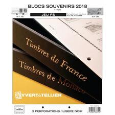 Jeux FS France blocs souvenirs 2018 sans pochettes.