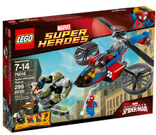 LEGO 76016 Marvel Super Heroes Spider-Helicopter Rescue