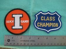 Vintage 2 Isky Iskenderian  Racing Cam Patches
