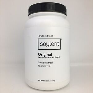 Soylent Meal Replacement Powder Original Gluten Free Vegan 36.8 Oz Exp 9/26/21