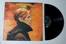 David Bowie Low Movie Soundtrack Rock w/ inner & lyricsRecord Vinyl lp Album