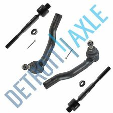 4pc Front Inner and Outer Tie Rod 2007 2008 2009 2010-2014 Ford Edge Lincoln MKX