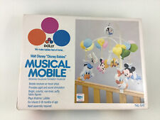 Walt Disney Babies Dolly Musical Mobile Mickey Mouse Plush Baby Crib Mobile New