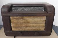 Altes Blaupunkt 6W69P Röhrenradio Bakelitgehäuse  1939/40 - Bastler/Sammlergrät