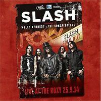 SLASH - LIVE AT THE ROXY 25.9.14 2 CD NEU