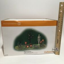 Department 56 Halloween Village Accessories Creepy Lighted Front Yard 53242 New