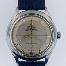 Omega Constellation Pie Pan Arrowhead Textured Dial # 354 Bumper Steel~1956~WOW!