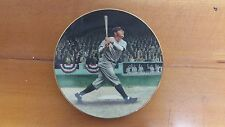 Collector Plate Babe Ruth the Called shot from collection the legend of Baseball