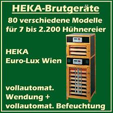 HEKA Euro-Lux Wien - Brutgerät für 800+375 Eier - vollaut. Wendung + Befeuchtung