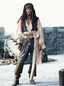 Pirate Knee-high Boots Jack Sparrow Pirates of the Caribbean Ren Faire Fantasy