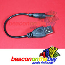 USB Male to 3.5mm Audio Jack TRRS Adapter Converter Car AUX iPod Shuffle MP3