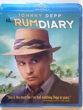 The Rum Diary (Blu-ray Disc, 2012) Johnny Depp, Based on Hunter S. Thompson Book