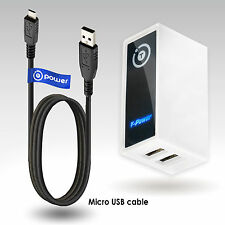 Dual USB Ports 5v 3.1-amp total for Barnes & Noble Nook Wi-fi Color Digital the