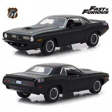 Highway 61 1:18 Fast & Furious 1972 Custom Plymouth Barracuda Diecast Car 18005