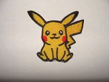 PIKACHU PATCH ECUSSON THERMOCOLLANT   POKEMON