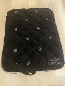 Juicy Couture Doggy Couture Travel Dog Mat Blanket