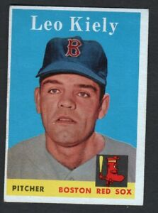 1958 Topps #204 Leo Kiely  (vg-ex)