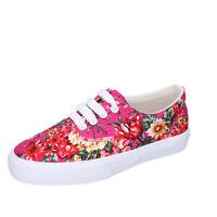 scarpe bambina LELLI KELLY 32 EU sneakers fucsia tessuto AG670-32