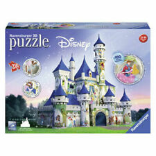 Ravensburger RB12510-4 Disney Princesses Castle 216 Piece 3D Puzzle