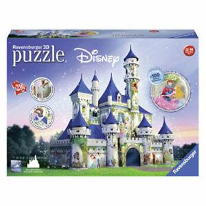 Ravensburger - Disney Princesses Castle 3D Puzzle 216pc