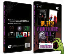 Halloween DVD Digital Decoration Vol 2 - (All New Spooky Edition!) …