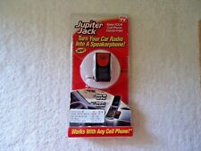 """As Seen On TV Jupiter Jack """" MAKE YOUR CELL PHONE HANDS FREE """""""
