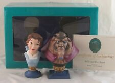 """WDCC """"Belle and the Beast"""" Portrait Series Beauty and the Beast in Box with COA"""