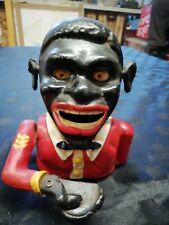 Vintage Jolly Blackman Cast Iron Money Box