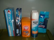 Gillette Sensor Arm & Hammer Unscented Schick Hydro Gel Oral-B Crest Health 2/21