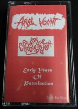 ANAL VOMIT / CADAVER INCUBADOR - Early Years of Putrefaction. Split Tape.