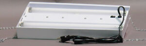 """NEW Growers Supply Co.18"""" Double Fluorescent Grow Light Fixture"""
