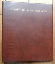 More details for royal mail stamp presentation pack album with inserts ref 1