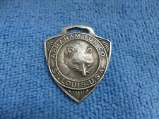 Vintage Sterling Silver Abraham Fur Co St. Louis Watch Fob