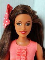 Barbie Doll Fashionista 52 Plaid on Plaid Hybrid Curvy Redressed Beautiful
