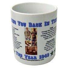 1943 Year In History Coffee Mug Includes Gift Box Born In 1943 Birthday Gift