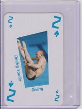 RARE 2012 LONDON UK 2012 OLYMPIC DMITRY SAUTIN CARD ~ RUSSIA ~ DIVING