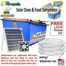 Buy a Solar Sun Oven Stove and get a FREE $125 Industrial Grade Dehydrator Kit
