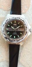 Rare ORIENT KING DIVER 100 watch 44mm automatic 48940 acier steel plongee NR