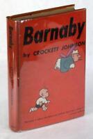 Signed Crockett Johnson First Edition 1943 Barnaby Harold & His Purple Crayon