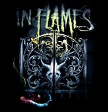 IN FLAMES cd lgo Sense of Purpose GATES Official SHIRT LAST MED new