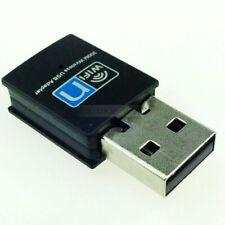 300Mbps Mini USB Wireless WiFi Lan Network Receiver Card Adapter For Desktop PC