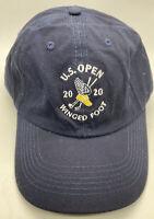 2020 US Open Winged Foot Blue Baseball Cap Hat Adjustable Strap USGA Golf