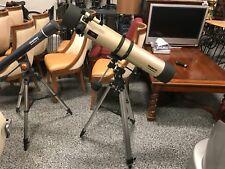 Tasco 114mm 900mm Refractor Telescope w/ Tripod