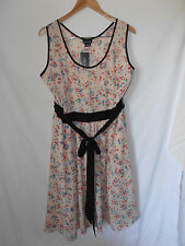 """CITY CHIC, XL, BNWT, RRP $129, BABY FLORAL, """"BRIGHT BLOOM"""" DRESS"""