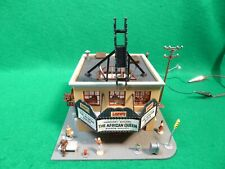 VINTAGE TYCO KIT HO SCALE LOWES MOVIE THEATRE BUILT LIGHTED