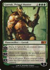 Garruk, Primal Hunter Magic 2012 / M12 NM Green Mythic Rare MTG CARD ABUGames
