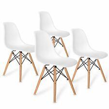 4er Esszimmerstühle Küchenstuhl Wohnzimmerstuhl mit Holzbeinen Büro Stühle