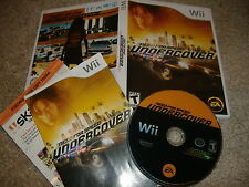 Need for Speed Undercover Wii Nintendo video game complete CIB us usa english R1